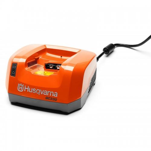 Cargador de batería Husqvarna QC330